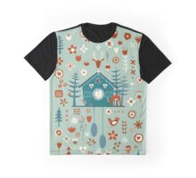 Cuckoo Clock Graphic T-Shirt