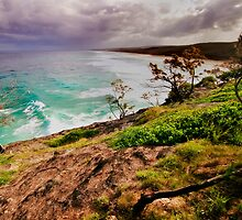 Stradbroke Island Point Lookout - On Coming Storm by Jaxybelle