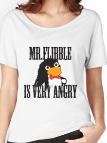 Mr.flibble is very angry Women's Relaxed Fit T-Shirt