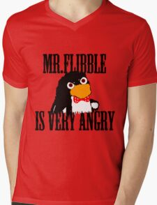 Mr.flibble is very angry Mens V-Neck T-Shirt