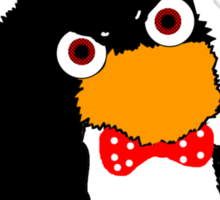 Mr.flibble is very angry Sticker