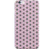 Pink and black kaleidoscope stars pattern iPhone case iPhone Case/Skin