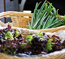 Green Onions  by James Webb