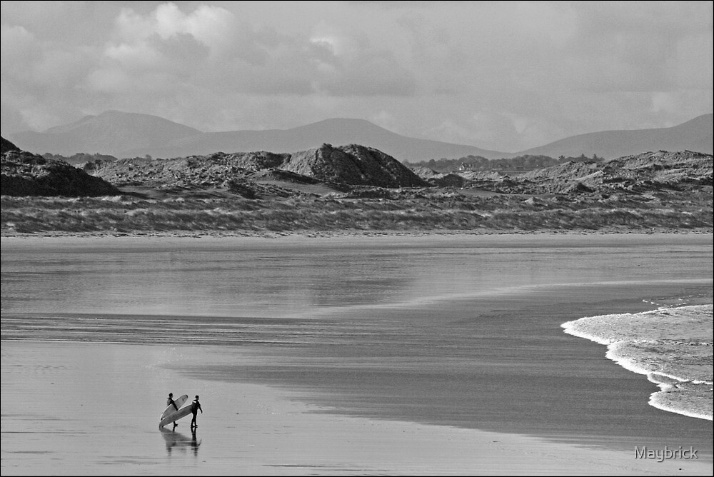 Enniscrone Surfers by Maybrick
