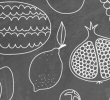 Fruity Drawings Sticker