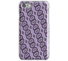 Purple retro pattern iPhone case iPhone Case/Skin
