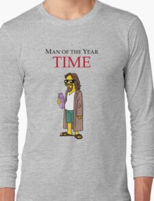 Dude of the year. Long Sleeve T-Shirt