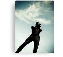 Ray Gun Zentai May 2012 Set I Pic 03 Canvas Print