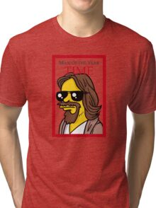Dude of the year parody. Tri-blend T-Shirt