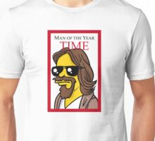 Dude of the year parody. Unisex T-Shirt