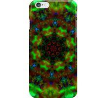 Green lights kaleidoscope pattern iPhone case iPhone Case/Skin