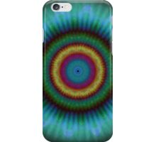 Aqua Pools Mandala pattern iPhone case iPhone Case/Skin
