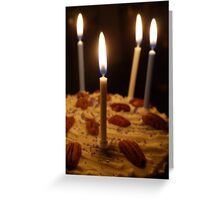 Maple and Pecan Layer Cake Greeting Card