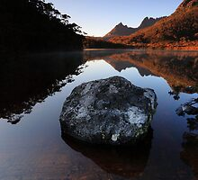 Lake Lilla Reflections by Garth Smith