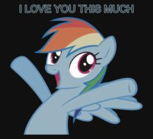 Dashie loves you by LikeToBeATree