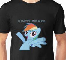 Dashie loves you Unisex T-Shirt