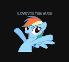 Dashie loves you Unisex T-Shirt