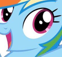 Dashie loves you Sticker