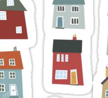 Little Houses Sticker