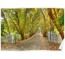 'Blakiston', Adelaide Hills, SA Poster