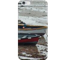 Small Wooden Boats Guernsey iPhone Case/Skin