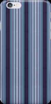 Iphone Cover - Purple stripe by Pendraia