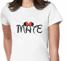 Soul Mate for couples Womens Fitted T-Shirt
