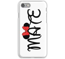 Soul Mate for couples iPhone Case/Skin