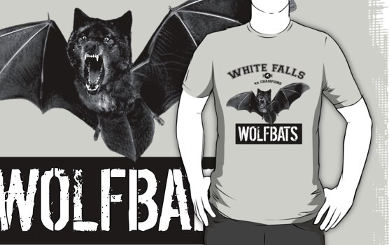 Wolfbat Shirt by handsomeshark