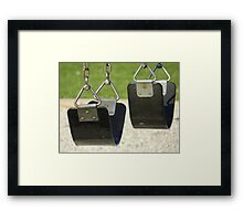 Warning!! May cause children to have fun! Framed Print