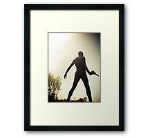 Ray Gun Zentai May 2012 Set I Pic 07 Framed Print