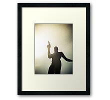 Ray Gun Zentai May 2012 Set I Pic 09 Framed Print