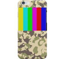 TV signal iPhone Case/Skin