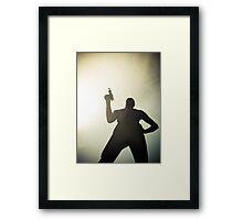 Ray Gun Zentai May 2012 Set I Pic 13 Framed Print