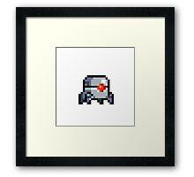 Nuclear Throne Robot Framed Print