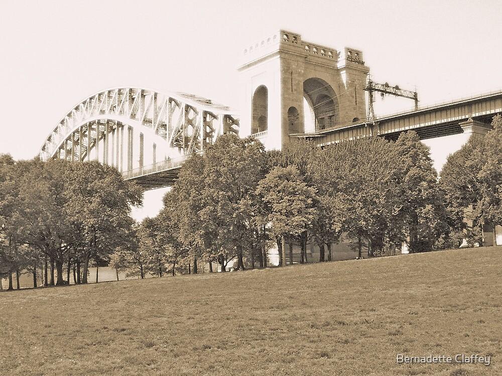 The Hellgate Bridge by Bernadette Claffey