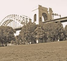 The Hellgate Bridge by Bernadette Claffey