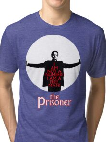 The Prisoner - I AM NOT A NUMBER! Tri-blend T-Shirt