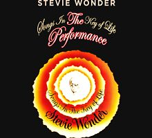 STEVIE WONDER Reyhan1 Songs In The key Of Life Tour Unisex T-Shirt