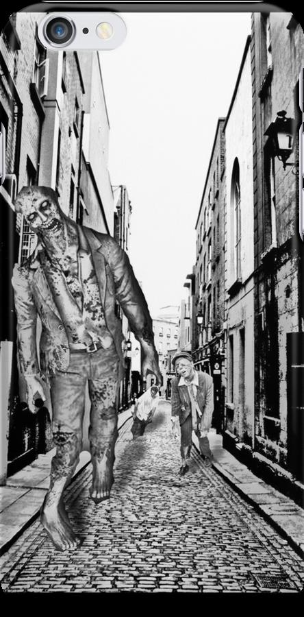 Zombie sketch case by Austin Kaplan