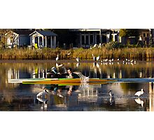 Saturday morning on Narrabeen Lake Photographic Print