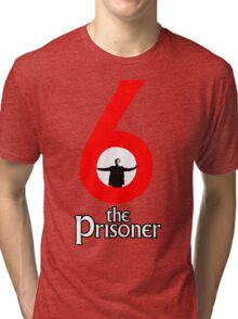 Number 6 - The Prisoner Tri-blend T-Shirt