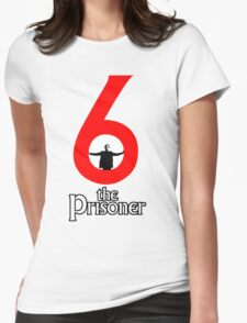 Number 6 - The Prisoner Womens Fitted T-Shirt