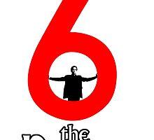 Number 6 - The Prisoner by scribbledeath