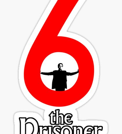 Number 6 - The Prisoner Sticker