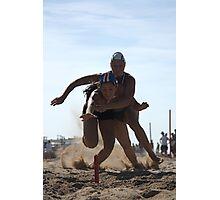 Jemimah wins Flags Photographic Print