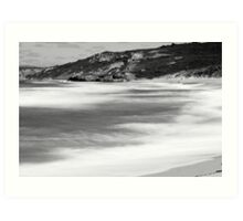 Timeless landscape - Great Ocean Road Victoria   Art Print