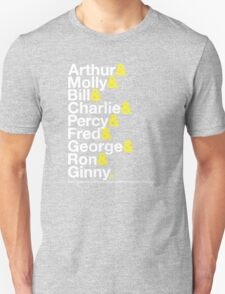 The Weasleys Jetset T-Shirt