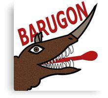 Barugon - White Canvas Print