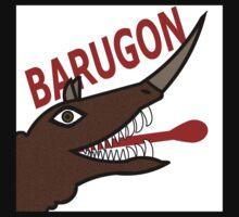 Barugon - White One Piece - Long Sleeve